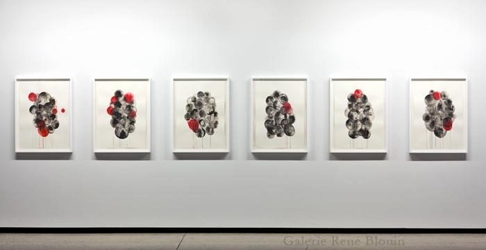 Vue de l'exposition (2012) Photo: Guy L'Heureux, 7 janvier - 11 février 2012 Dissolutions : Serge Murphy, Shirley Wiitasalo, Étienne Zack