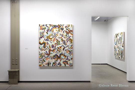 François Lacasse, Vue de l'exposition (2011), Crédit photo : Mathieu Sirois