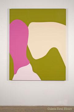 Daniel Langevin Stianes (#033), 2007 émail sur bois 152,4 x 121,9 cm / 60 x 48 pouces