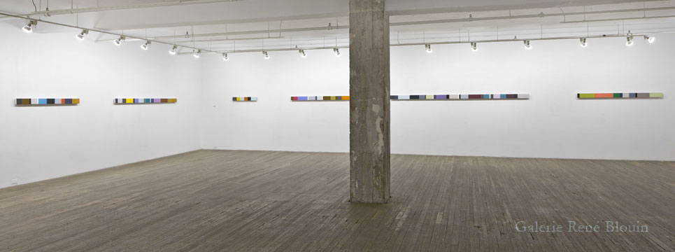 Francine Savard, Vue de l'exposition (2011)  Photo: Guy L'Heureux