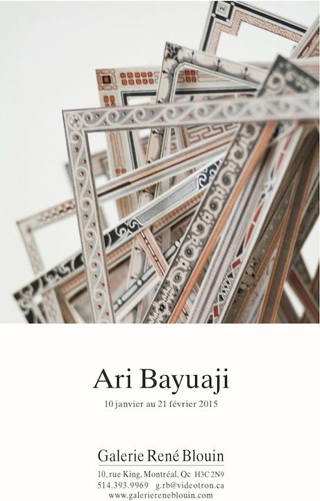 INVITATION : Ari Bayuaji, (2014) Photo: Guy L'Heureux