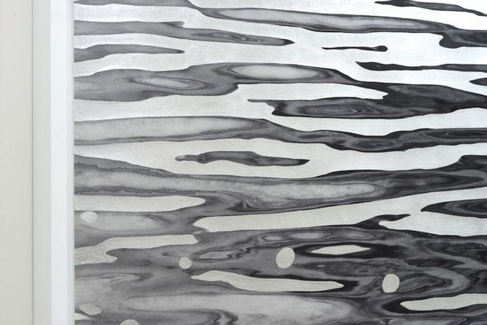 Flow (positif) (détail), Geneviève Cadieux, Vue de l'exposition (2015) Photo: Guy L'Heureux