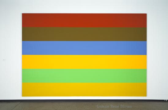 Yves Gaucher,  Vue de l'exposition (2011)  Crédit photo : Richard-Max Tremblay