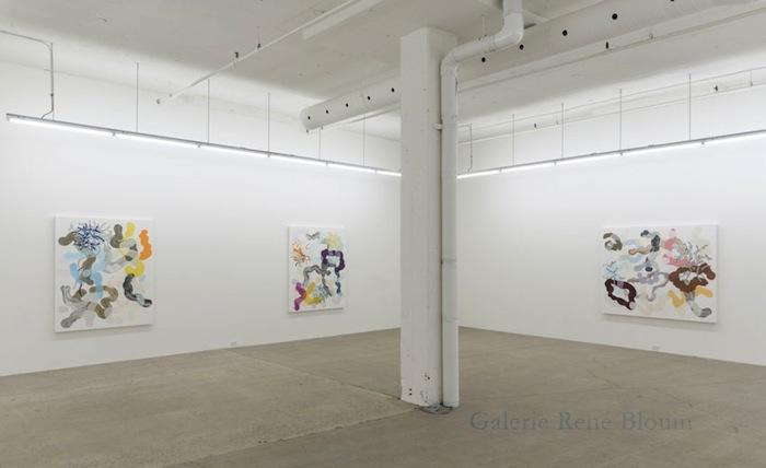 Vue de l'exposition: François Lacasse22 mars au 3 mai 2014, Photo: Guy L'Heureux