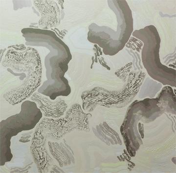 François Lacasse, COMPILATION DOUBLE IV, (détail) 25 ans : Exposition de groupe, Vue de l'exposition (2011) Photo: Richard-Max Tremblay