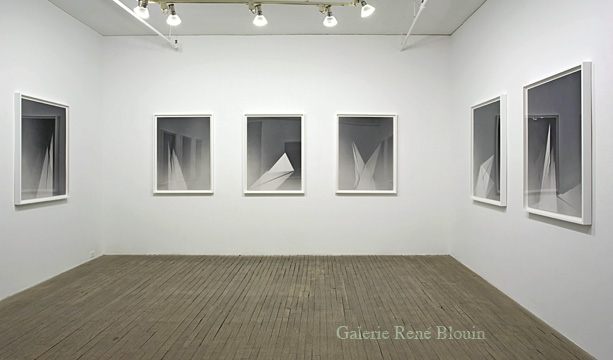 Marie-Claire Blais, Vue de l'exposition (2009) Photo: Richard-Max Tremblay