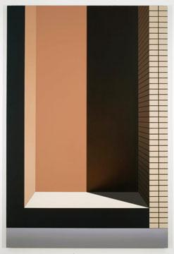 Alcôve (19th street), 2008 huile sur toile 182,9 x 121,9 cm / 72 x 48 pouces, Pierre Dorion, Vue de l'exposition (2010) Photo: Richard-Max Tremblay