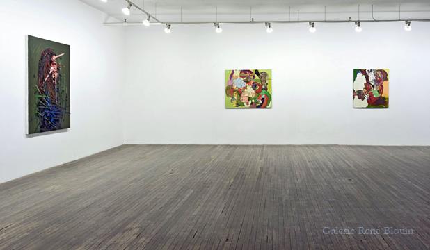 Peinture Extrême Painting, Vue de l'exposition (2010) Photo: Richard-Max Tremblay