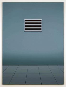 Sonnabend I, 2008 huile sur toile de lin 182,9 x 137,2 cm / 72 x 54 pouces, Pierre Dorion, Vue de l'exposition (2010) Photo: Richard-Max Tremblay