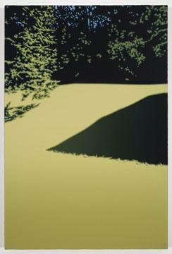 Shadow II (S.J.P.J.), 2008 huile sur toile de lin 182,9 x 121,9 cm / 72 x 48 pouces, Pierre Dorion, Vue de l'exposition (2010) Photo: Richard-Max Tremblay