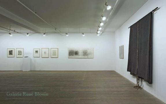Betty Goodwin, Vue de l'exposition (2008)  Photo: Richard-Max Tremblay