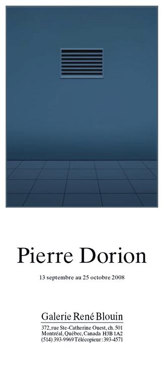 Pierre Dorion, INVITATION (2008) Photo: Richard-Max Tremblay