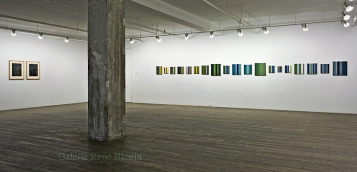 Pierre Dorion: Abstractions, Vue de l'exposition (2010) Photo: Richard-Max Tremblay