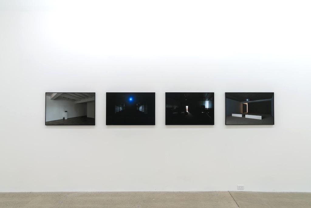 Vue d'installation | Exposition : Simon Bertrand et Mathieu Grenier 3 décembre 2016 au 28 janvier 2017  Crédit photo : Guy L'Heureux