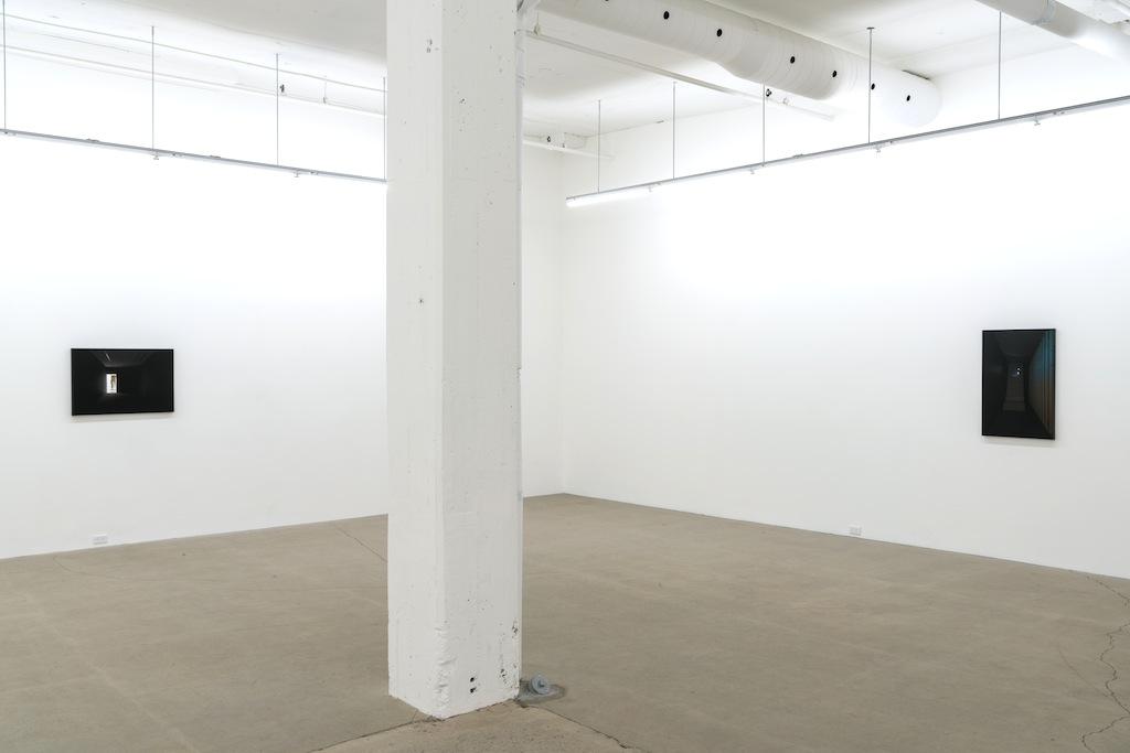 Vue d'installation | Simon Bertrand et Mathieu Grenier 3 décembre 2016 au 28 janvier 2017  Crédit photo : Guy L'Heureux