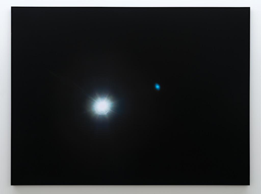 Mathieu Grenier, The Eye, 2016, Éd. 1/3, Impression au jet d'encre sur papier Lasal Photo Matte, 152 x 203 cm | Simon Bertrand et Mathieu Grenier 3 décembre 2016 au 28 janvier 2017  Crédit photo : Guy L'Heureux