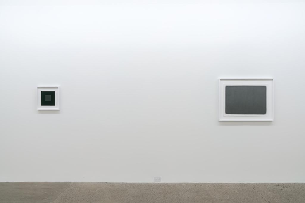 Vue d'installation | Exposition Simon Bertrand et Mathieu Grenier 3 décembre 2016 au 28 janvier 2017  Crédit photo : Guy L'Heureux