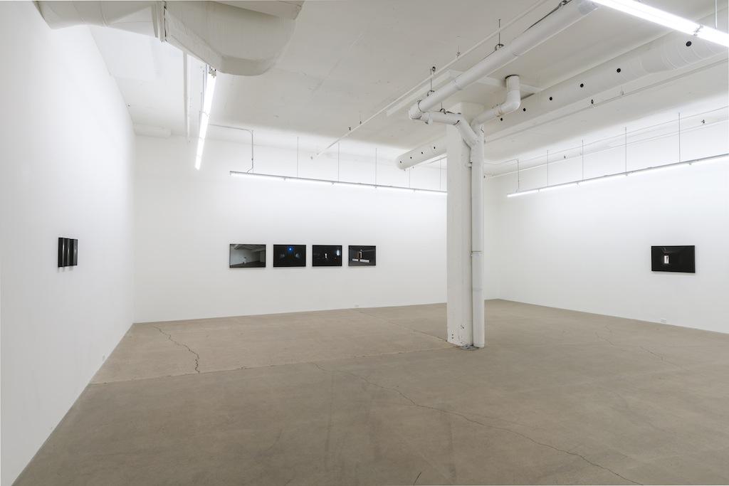Vue d'installation | Exposition: Simon Bertrand et Mathieu Grenier 3 décembre 2016 au 28 janvier 2017  Crédit photo : Guy L'Heureux