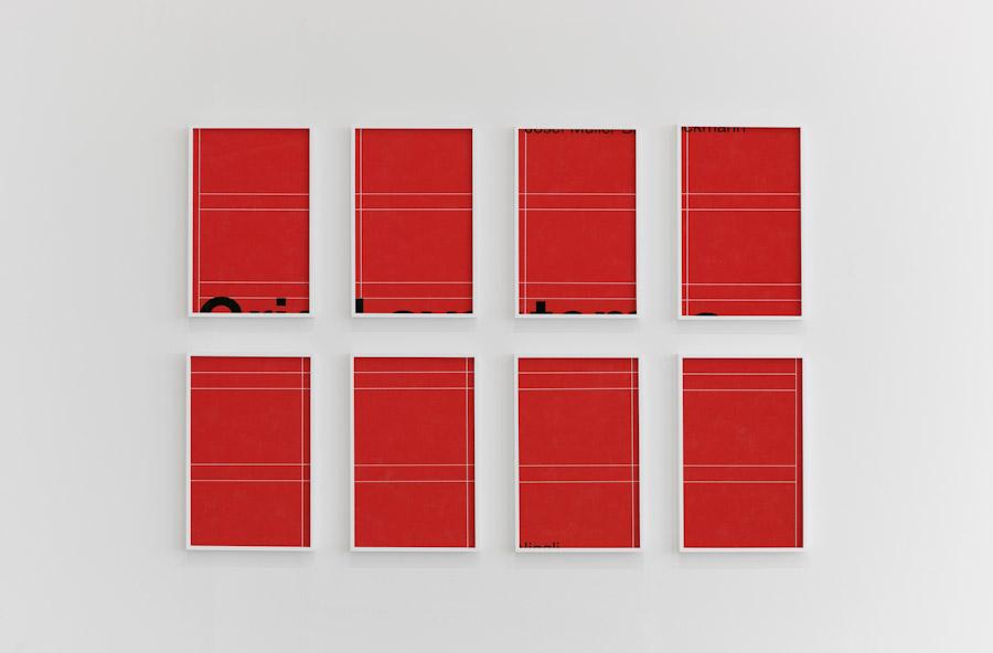 Pascal Grandmaison, The exact is superior to the vague, 2008, épreuve numérique à développement chromogène montée sur plexiglas, 63 x 48 pouces (chaque élément)