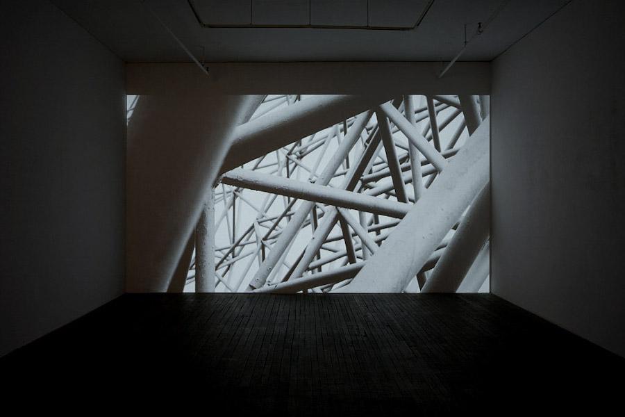 Pascal Grandmaison, Soleil différé, 2010, video haute définition et son, 18m 51s