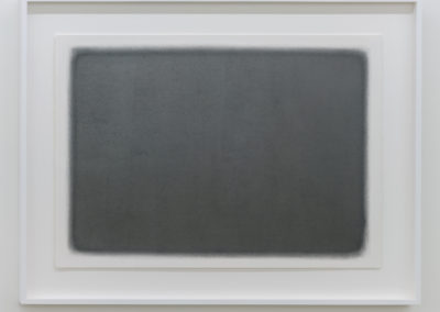 Simon Bertrand, Les débuts, 2016, Graphite sur papier Fabriano perforé à l'aiguille, 53 x 76 / 21 x 30 pouces