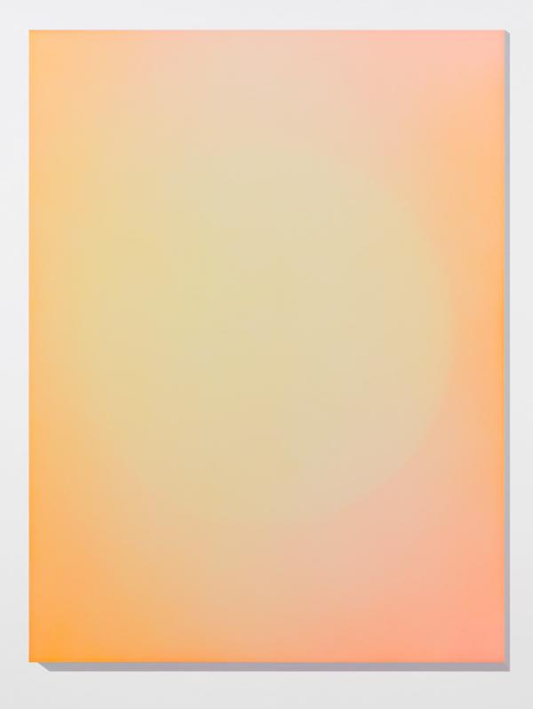 Marie-Claire Blais, Brûler les yeux fermés 13, 2012, peinture acrylique en aérosol sur toile, 152 x 143 cm. Photo : Marie-Claire Blais