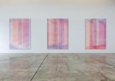 Marie-Claire Blais, Vue d'installation, 2016. Photo : Marie-Claire Blais.