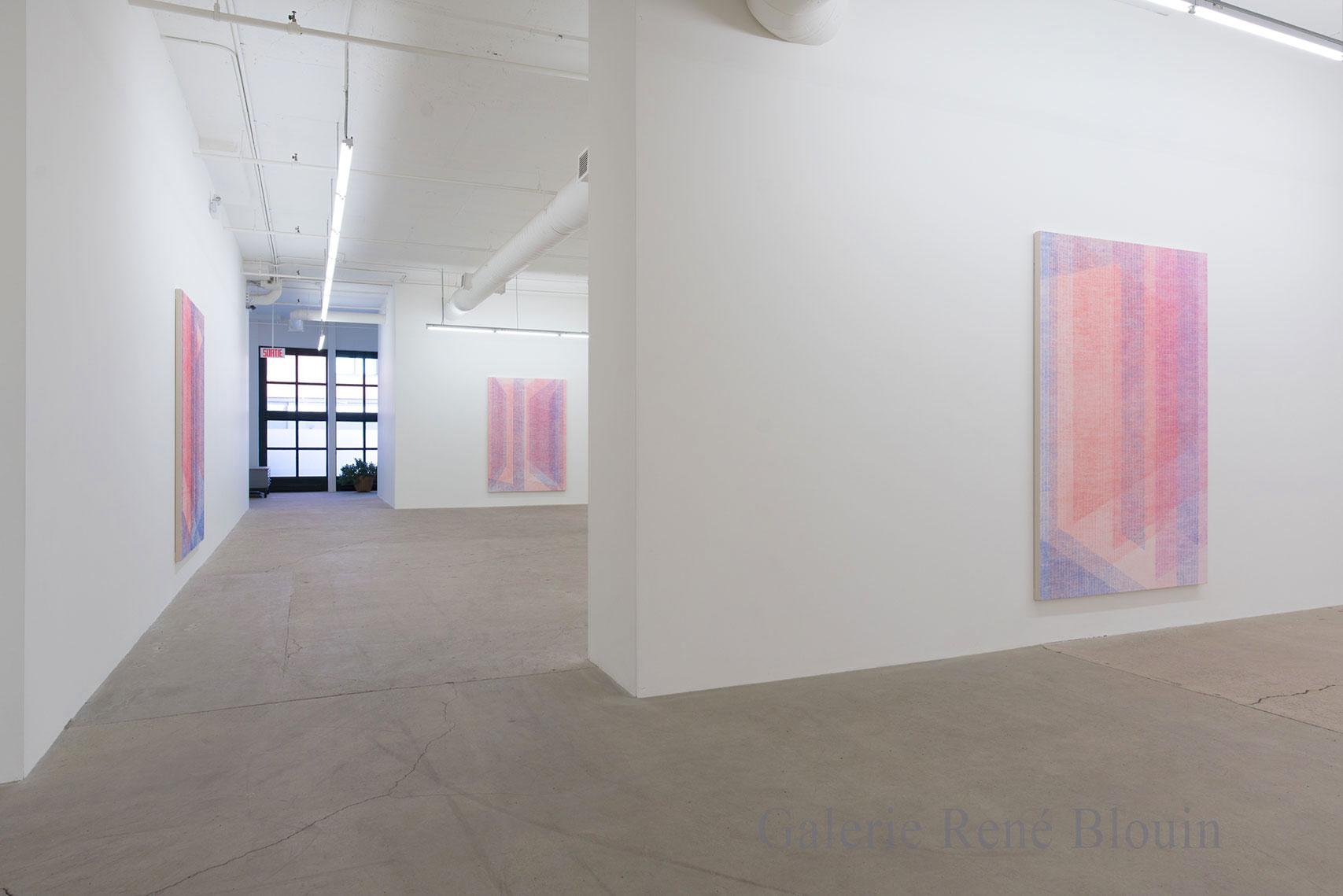 Marie-Claire Blais, 2017, Vue d'installation. Photo : Marie-Claire Blais