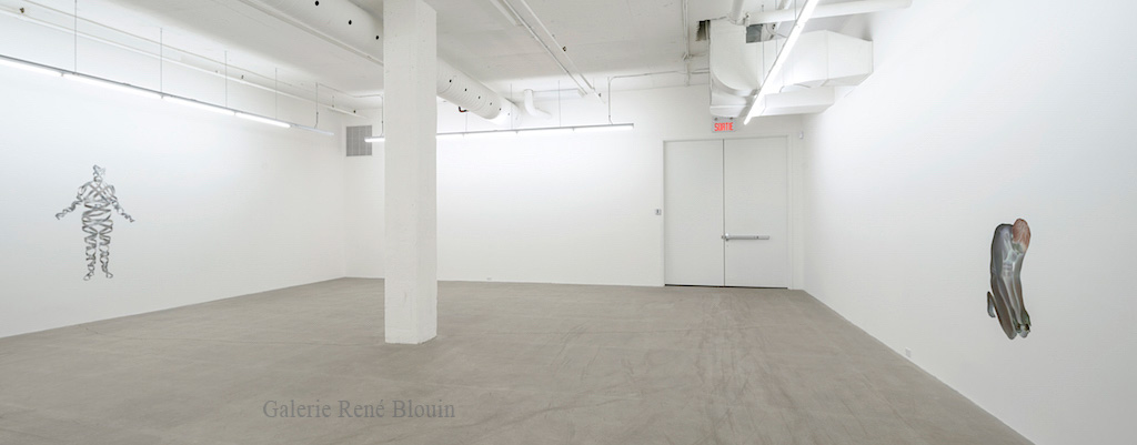 Numa Amun, Vue d'installation - Galerie René Blouin exposition : 25 mars au 6 mai 2017