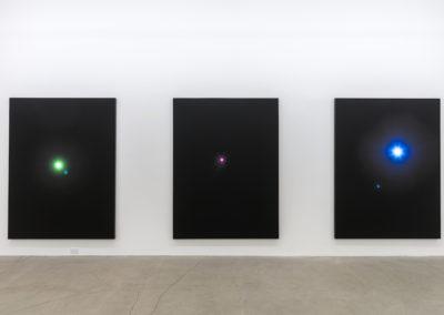 Mathieu Grenier, Vue d'installation, 2016. Photo: Guy L'Heureux