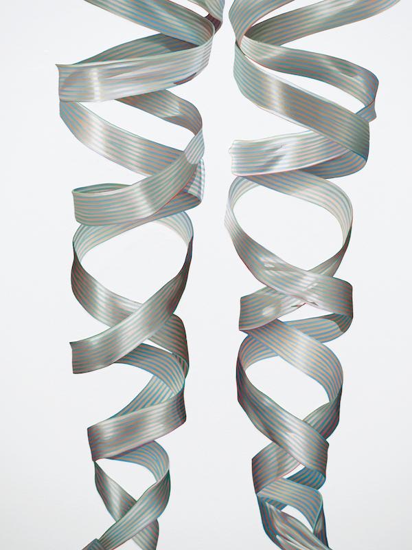 Numa Amun, Raccord (détail), 2009, acrylique sur toile