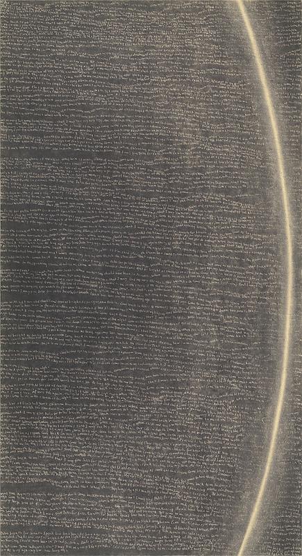 Simon Bertrand, 35 Echo, 2016, Graphite sur papier, 23 x 12 pouces