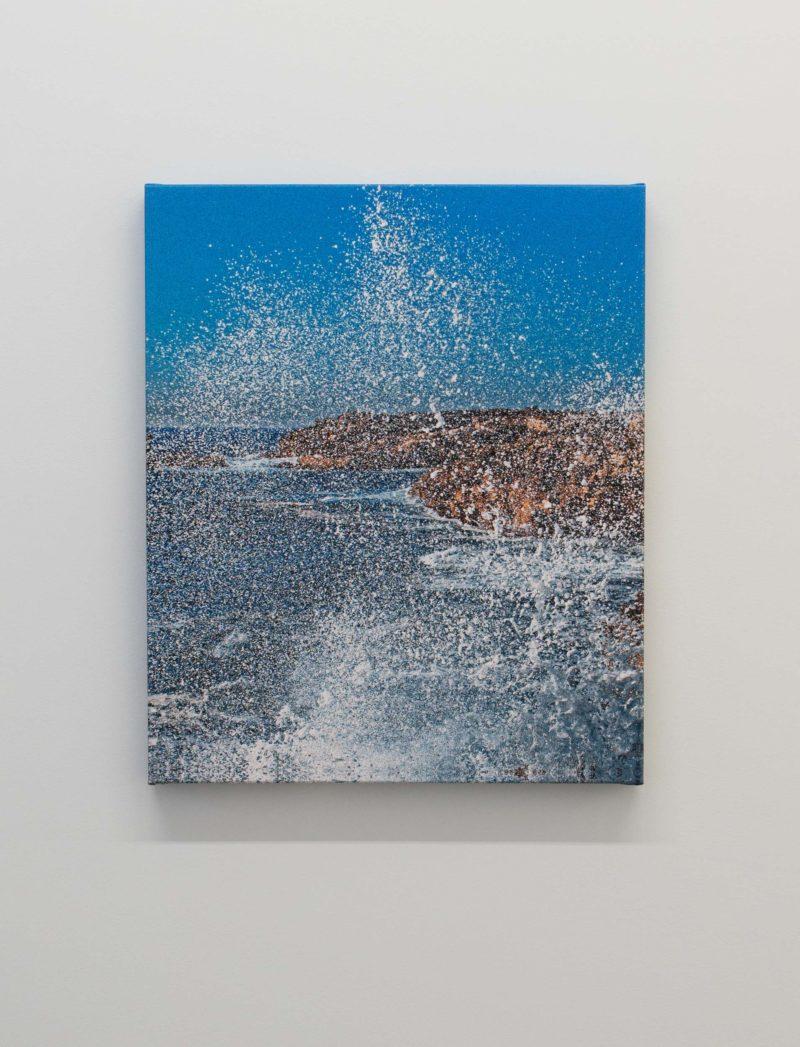 Pascal Grandmaison, DÉTÉRIORATION DU PLAN, 2017, Édition de 3, Impression au jet d'encre sur toile, 56 x 45,5 cm / 22 x 18 pouces