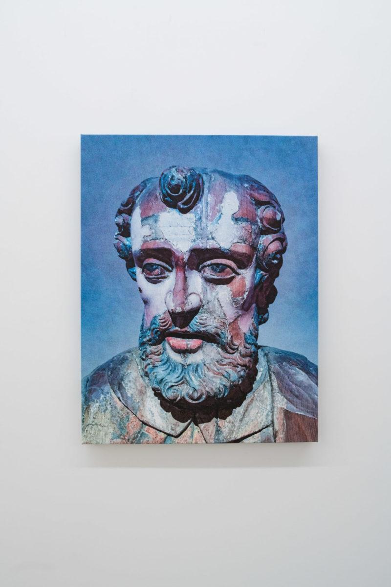 Pascal Grandmaison, HOMME FATIGUE, 2017, Édition de 3, Impression au jet d'encre sur toile, 89 x 68,5 cm / 35 x 27 pouces