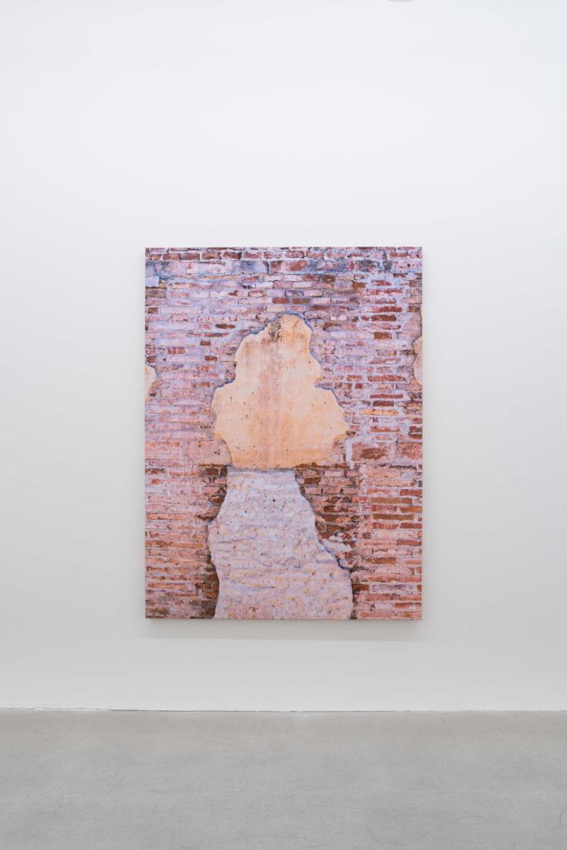 Pascal Grandmaison, CONSTRUCTION DE L'ÉCRAN, 2017, Édition de 3, Impression au jet d'encre sur toile, 178 x 132 cm / 70 x 52 pouces