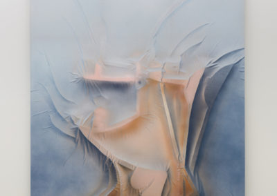 Anthony Burnham, Beside itself, 2017, Acrylique sur coton, 210 x 166 cm / 82,5 x 65,5 pouces