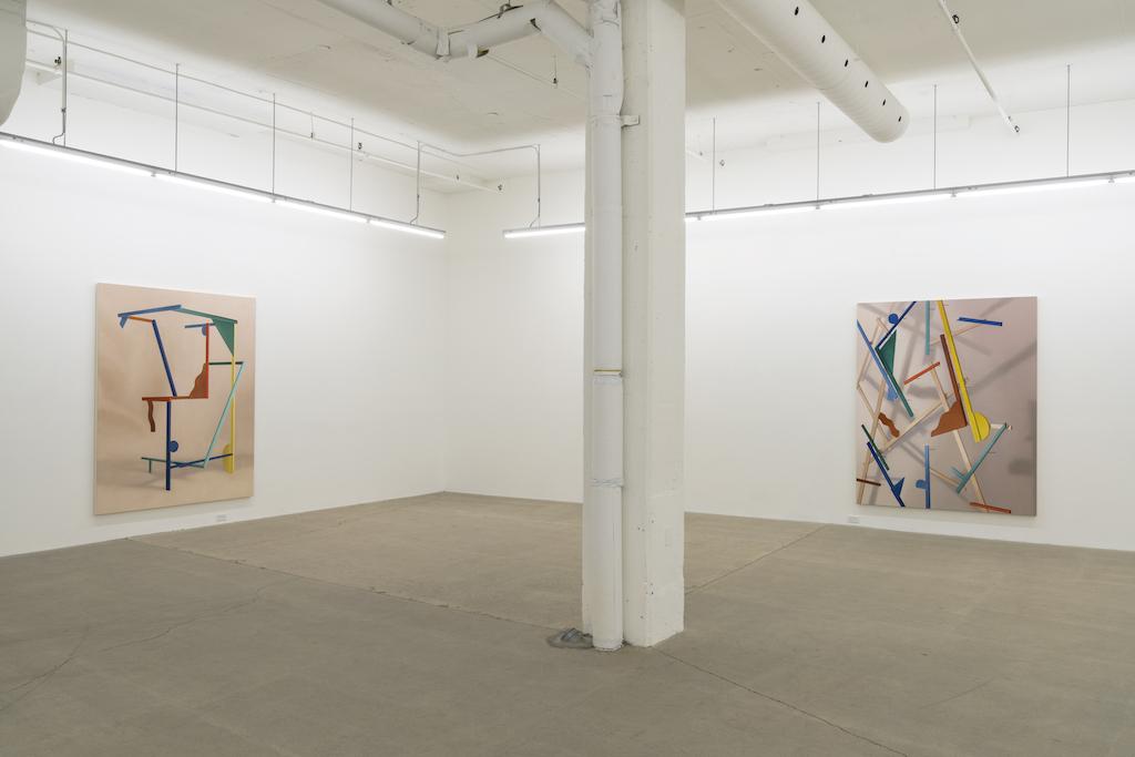 Anthony Burnham, Vue d'installation, Galerie René Blouin, Septembre 2017