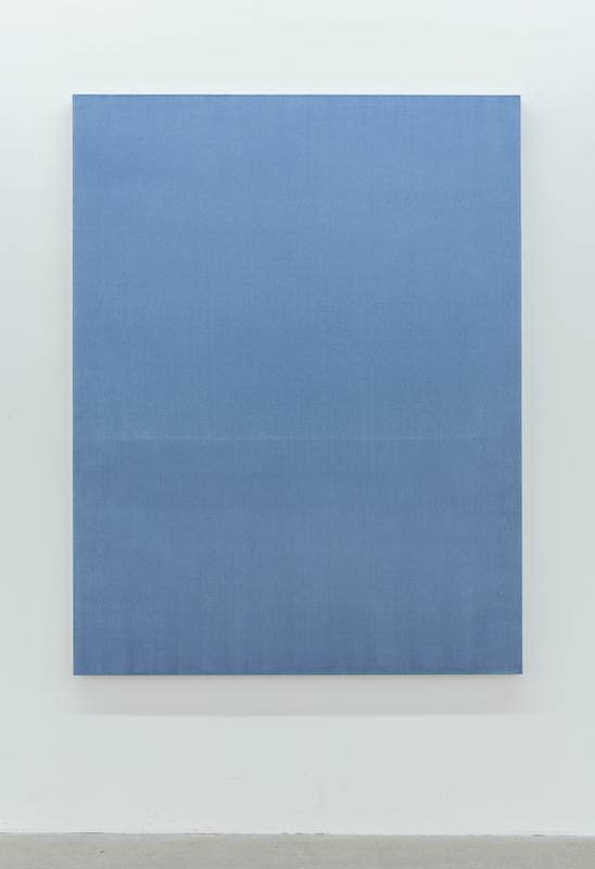 Chris Kline, Metre, 2015 acrylique sur toile, 157,4 x 121,9 cm / 62 x 48 pouces Vue de l'exposition (2015) Photo: Richard-Max Tremblay