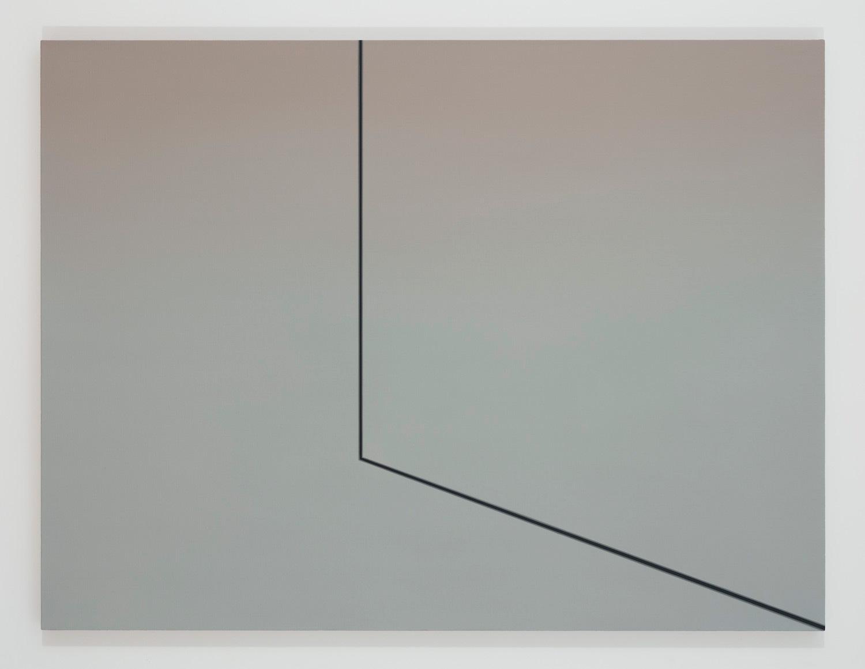 Sans titre (FS) II, 2016, huile sur toile lin, 45 x 60 pouces