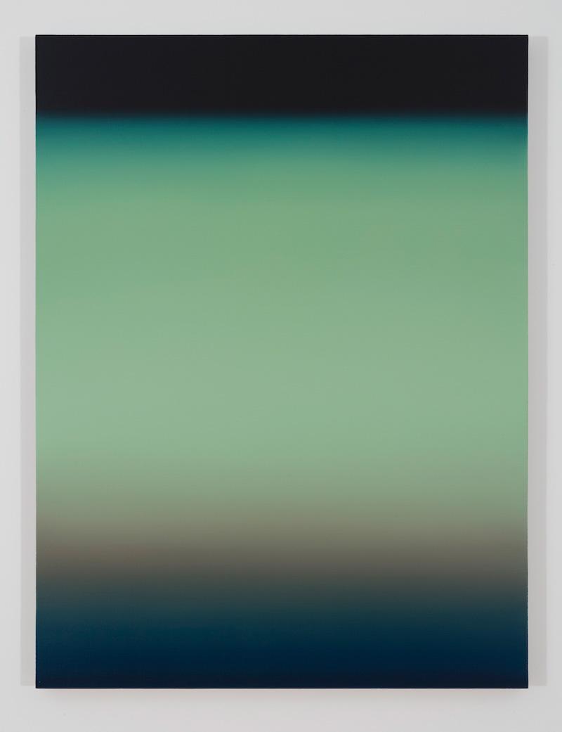 Lagune II, 2016, huile sur toile de lin, 48 x 36 pouces