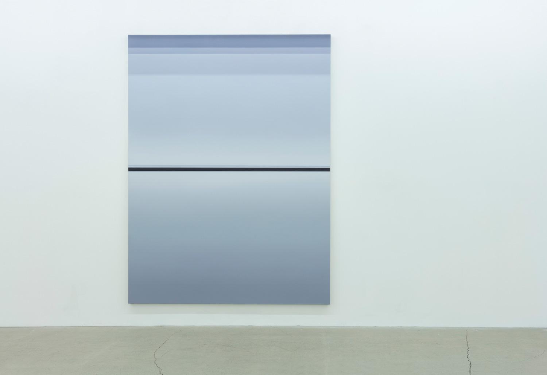 Sans titre (BG), 2013, huile sur toile de lin, 96 x 72 pouces