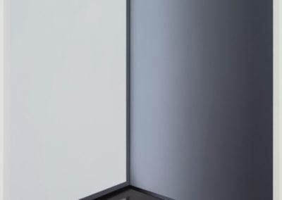 Screen II, 2016, huile sur toile de lin, 72 x 54 pouces