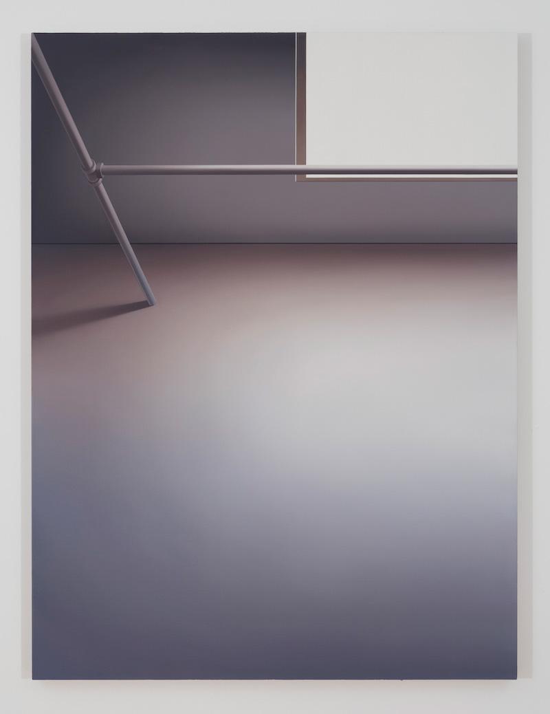 Skylight, 2016, huile sur toile de lin, 60 x 45 pouces