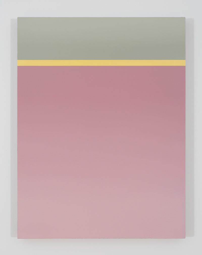 Dock A, 2017, huile sur toile de lin, 33 x 25 pouces