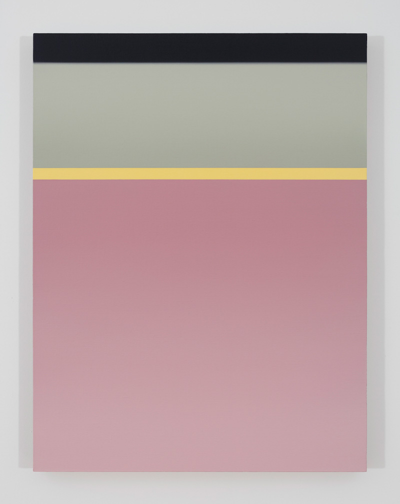 Dock B, 2017, huile sur toile de lin, 33 x 25 pouces