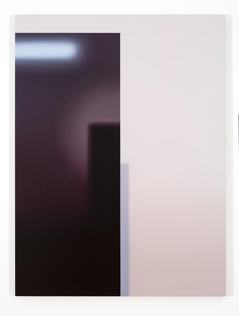 Sans titre (TB) II, 2016, huile sur toile lin, 60 x 45 pouces