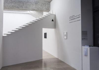 Mathieu Grenier et Jean-Philippe Lockhurst, La forteresse ouverte, 2017, Centre d'art La Halle, Pont-en-Royans (vue d'installation)