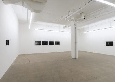 Mathieu Grenier, Boîte Noire, 2017 (vue d'installation)