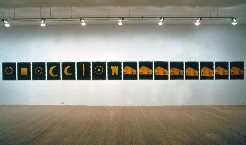 Ulay, Marina Abramovic, Installation 31 juillet 1987 - 5 septembre 1987