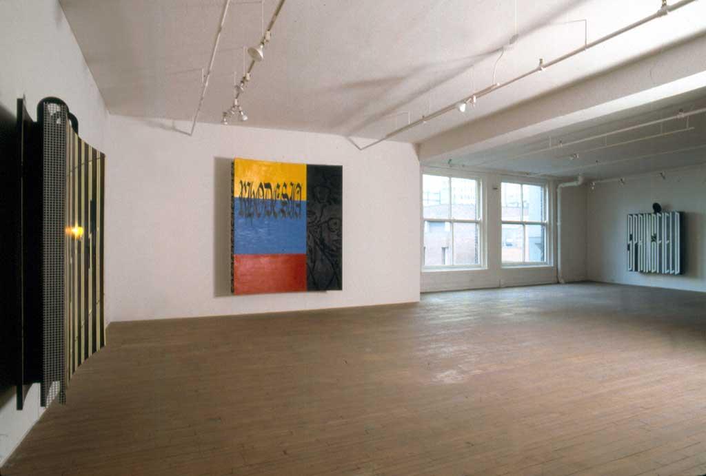 David Craven, Installation, Galerie René Blouin, 23 avril - 21 mai 1988
